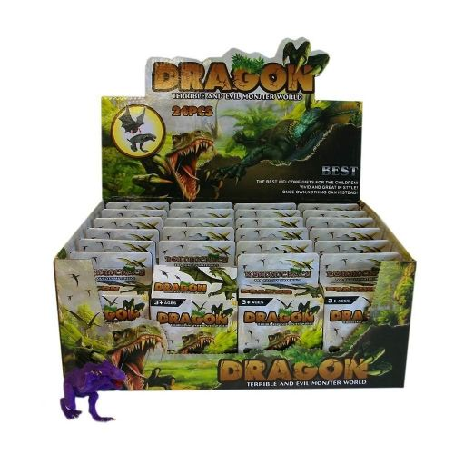 Buildable Dragons in individual Boxes (24 per outer cdu box)